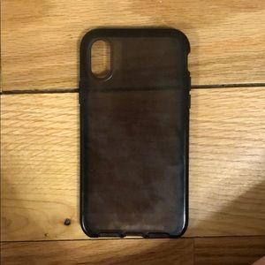 Black Tech21 iPhone X Case